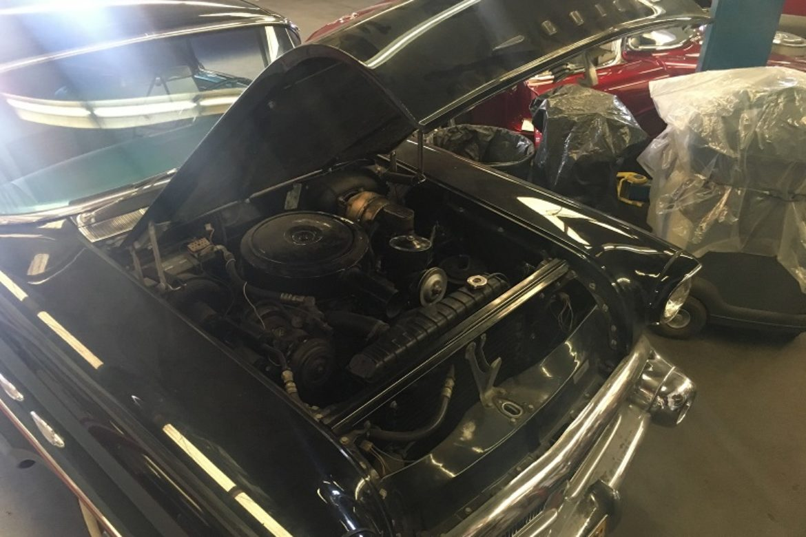 1957 Buick Century engine