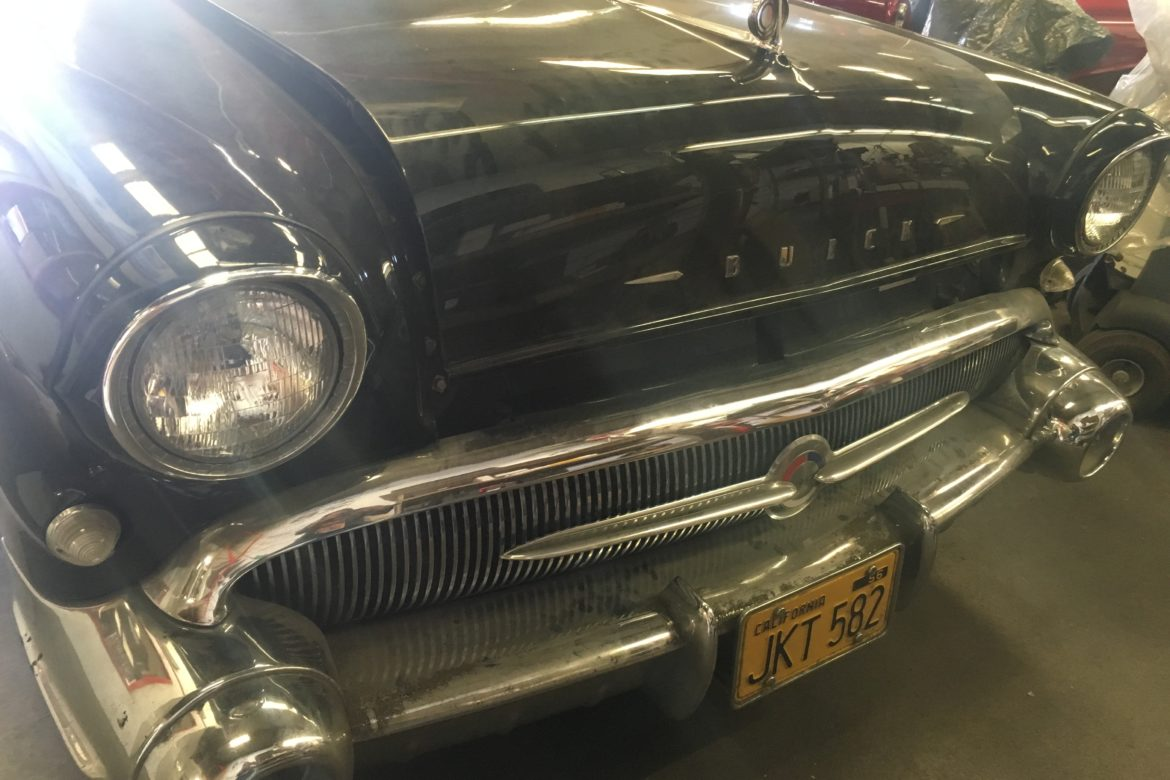 1957 Buick Century grill and headlights