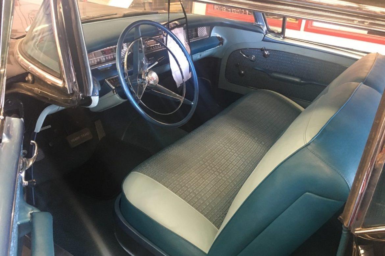 1957 Buick Century interior driverside