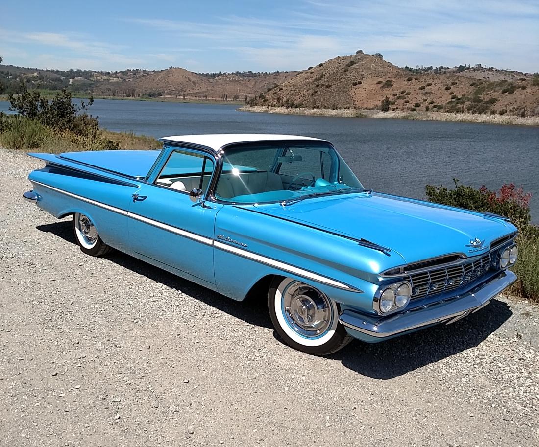 1959 Chevy El Camino Hot Rods Amp Custom Stuff Inc