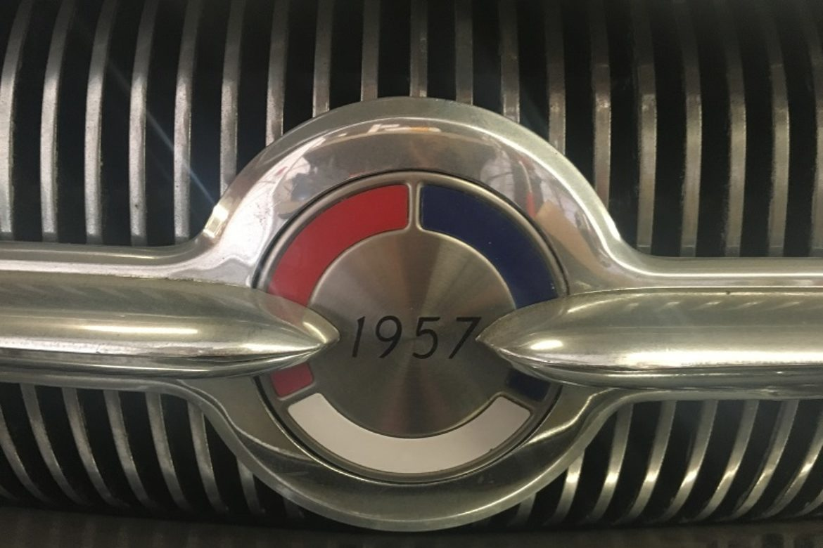 1957 Buick Century grill